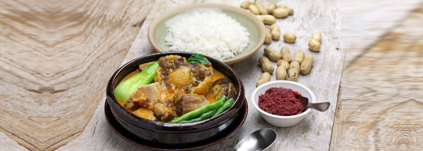 Filipino delicay called kare kare